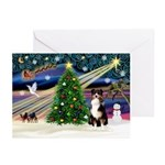XmasMagic/Aussie (#1) Greeting Cards (Pk of 20)