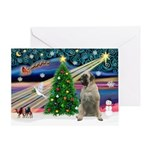XMagic-Bull Mastiff Greeting Card