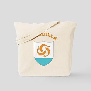 Stylized Anguilla Tote Bag