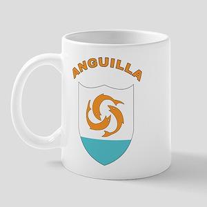 Stylized Anguilla Mug