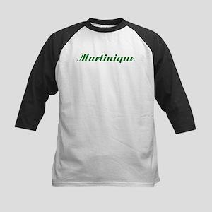 Classic Martinique (Green) Kids Baseball Jersey