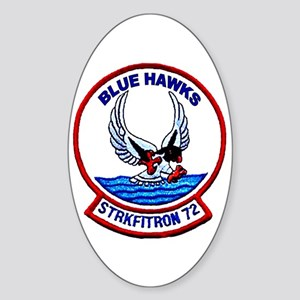 VFA 72 Blue Hawks Oval Sticker