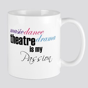 Theatre is my passion Travel Mugs