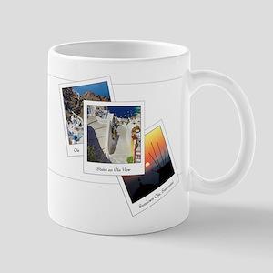 Oia Polarids, Santorini Mug