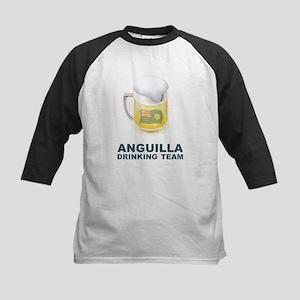 Anguilla Drinking Team Kids Baseball Jersey