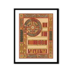 Celtic Illumination Framed Print