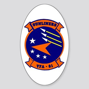 VFA 81 Sunliners Oval Sticker