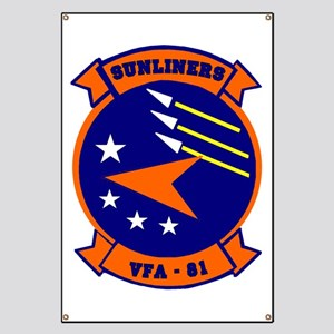 VFA 81 Sunliners Banner