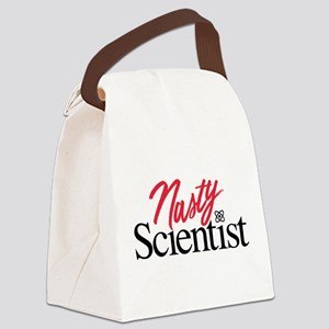 Nasty Scientist Canvas Lunch Bag
