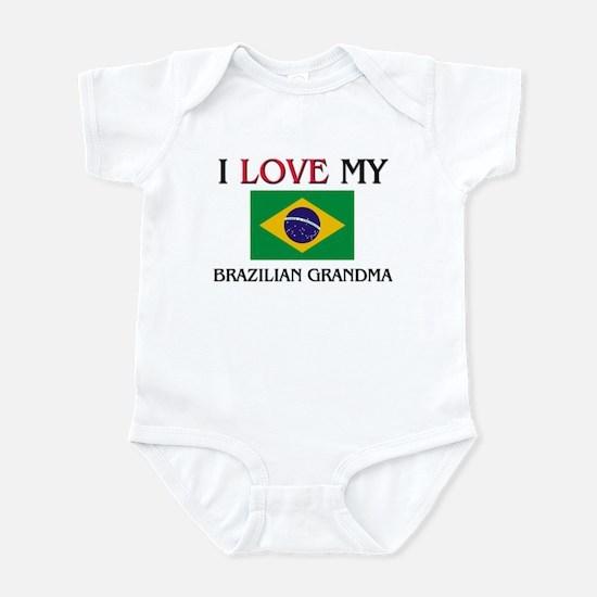 I Love My Brazilian Grandma Infant Bodysuit