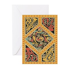 Celtic Gold Greeting Cards (Pk of 10)