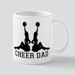 cheer_dad_black Mugs