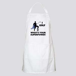 Golf Superhero BBQ Apron