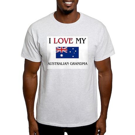 I Love My Australian Grandma Light T-Shirt