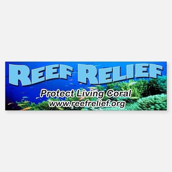Reef Relief Bumper Bumper Bumper Sticker