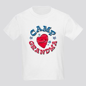 Camp Grandma Kids Light T-Shirt