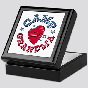 Camp Grandma Keepsake Box