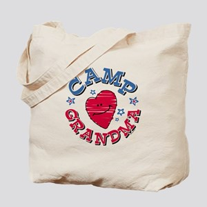 Camp Grandma Tote Bag