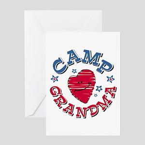 Camp Grandma Greeting Card