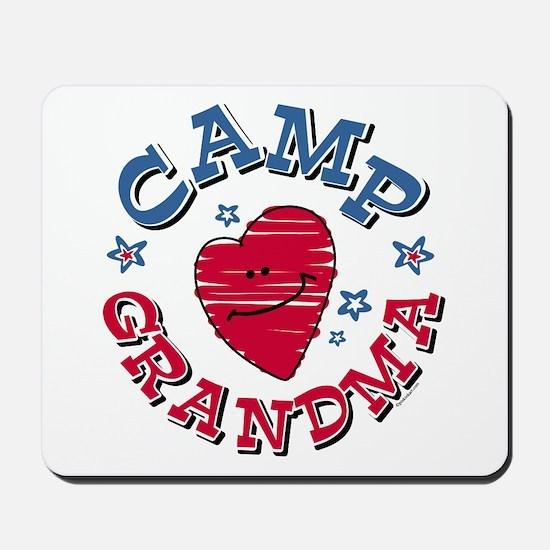 Camp Grandma Mousepad