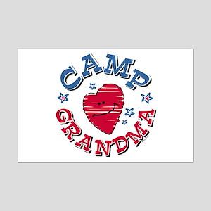 Camp Grandma Mini Poster Print