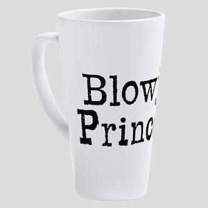 The Typewrittten Words Blowjob Pri 17 oz Latte Mug