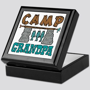 Camp Grandpa Keepsake Box