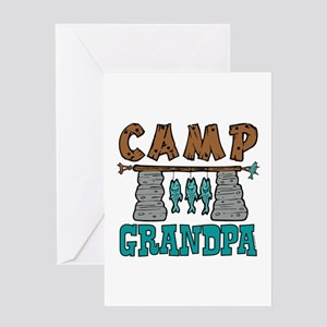 Camp Grandpa Greeting Card