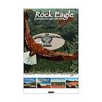 Rock Eagle/Lost Worlds of GA Mini Poster Print