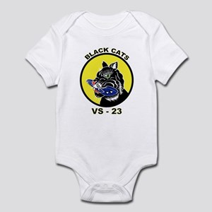 VS 23 Black Cats Infant Bodysuit