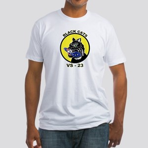VS 23 Black Cats Fitted T-Shirt