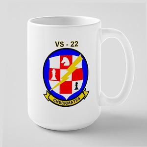 VS 22 Checkmates Large Mug