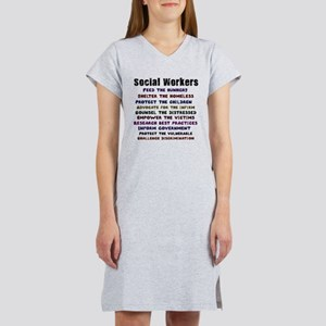 social workers work front T-Shirt