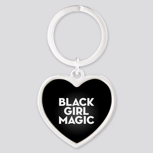 Black Girl Magic Heart Keychain
