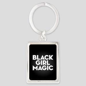 Black Girl Magic Portrait Keychain