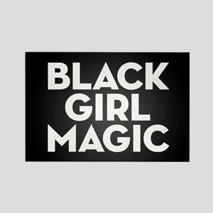 Black Girl Magic Rectangle Magnet