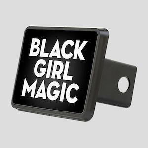Black Girl Magic Rectangular Hitch Cover