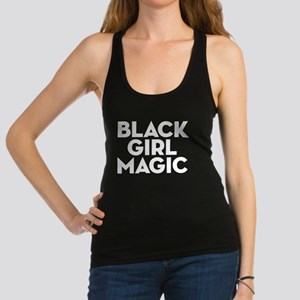 Black Girl Magic Racerback Tank Top