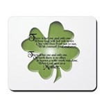 Irish Blessing - Mothers - Mousepad