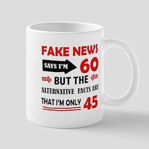 60th birthday designs Mugs
