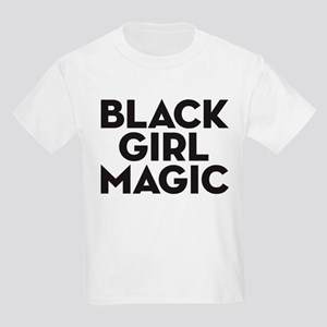 Black Girl Magic Kids Light T-Shirt