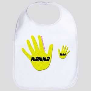Mamma (hands) Bib