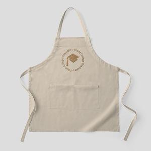 Cute Pink Future College Graduate BBQ Apron