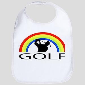 Rainbow Golf Bib