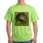 Turkey Fan Green T-Shirt