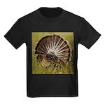 Turkey Fan Kids Dark T-Shirt