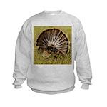 Turkey Fan Kids Sweatshirt