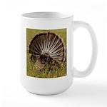 Turkey Fan Large Mug