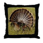 Turkey Fan Throw Pillow