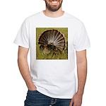Turkey Fan White T-Shirt